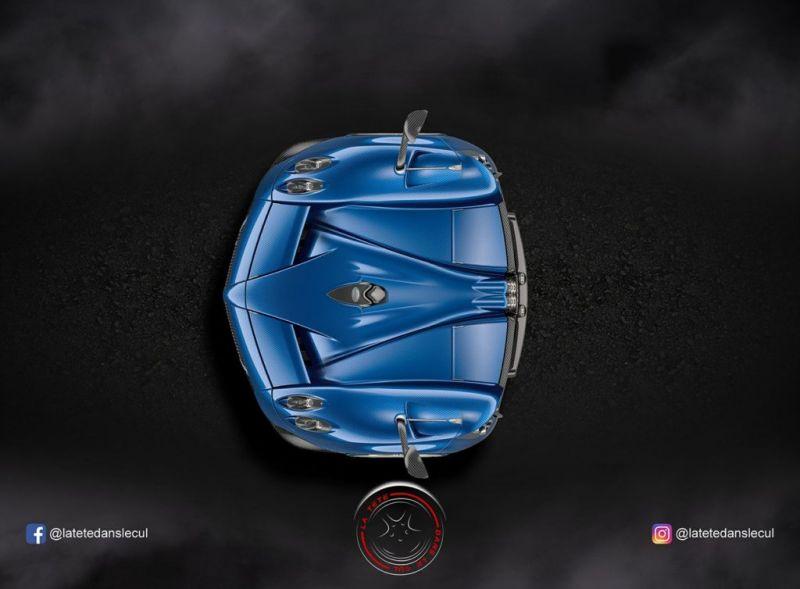 Французский интернет-художник делает из машин и мотоциклов
