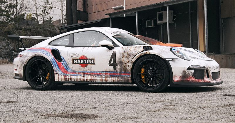 Новая волна Rat-Look: Porsche GT3 RS в стиле