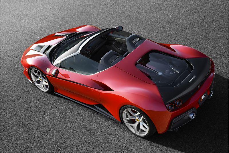 Только для Японии: Ferrari J50