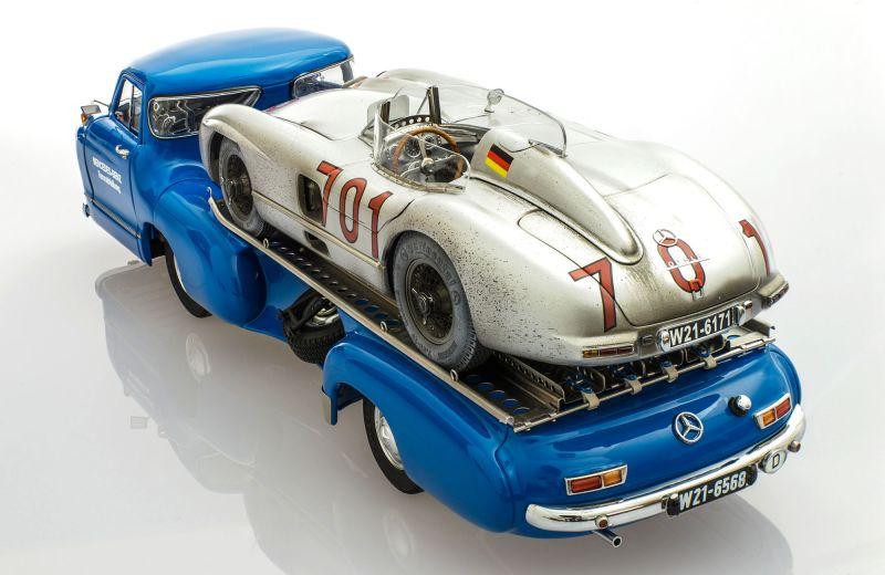 Модель для коллекционеров: Mercedes-Benz Blue Wonder + Dirty Hero 300 SLR