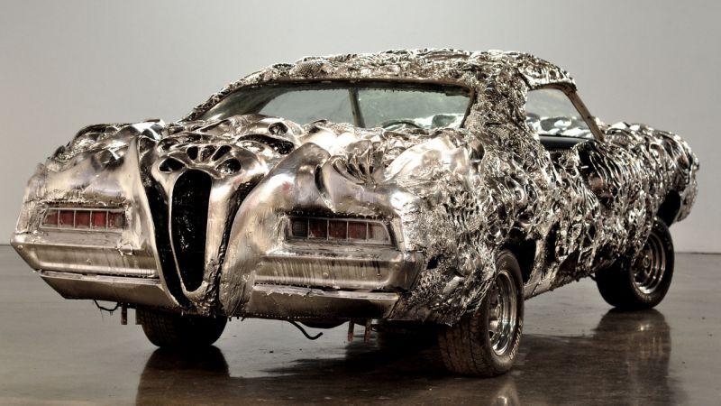 На аукционе - первый автомобиль с кузовом, распечатанным на 3D-принтере