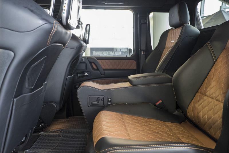 Mercedes-Benz G63 AMG 6x6 поступил в продажу в России