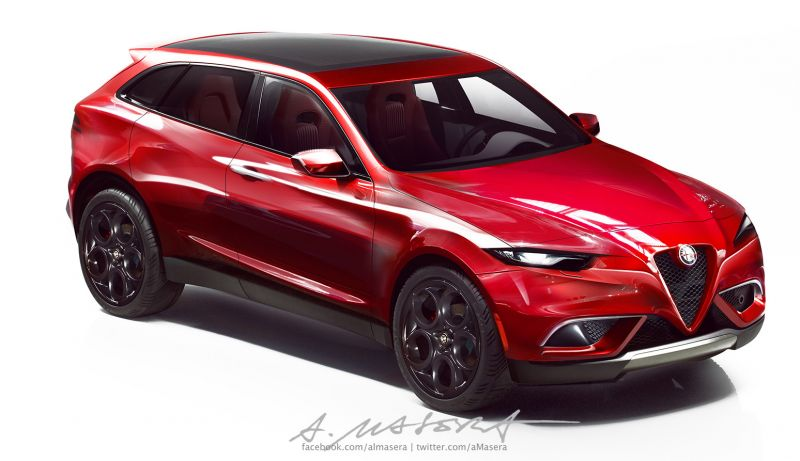 У Alfa Romeo тоже будет свой SUV