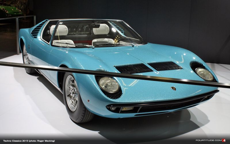 Два редчайших экспоната от Lamborghini на выставке Techno Classica 2015