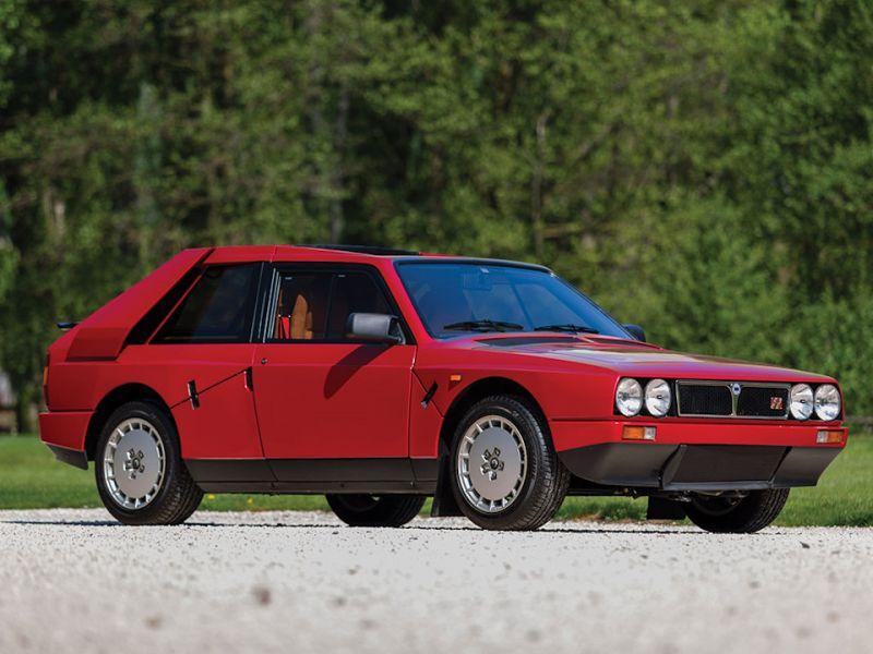 Нулевая Lancia Delta S4 Stradale 1985 года скоро на аукционе!