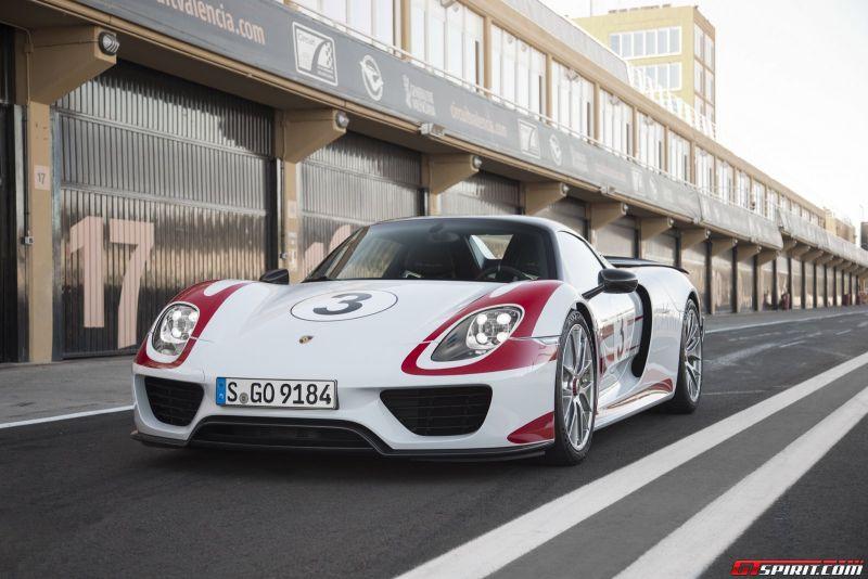 Porsche 918 Spyder 2014 года