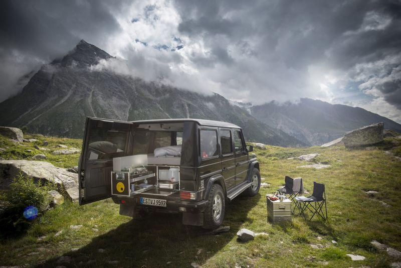 QUQUQ G-Box: набор туриста для владельцев Mercedes-Benz G-Class