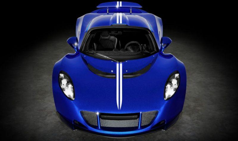 Самый последний Hennessey Venom GT: