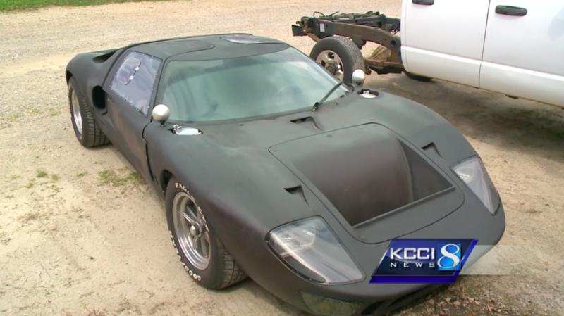 Туповатый воришка угнал Ford GT40 в Маршалтауне