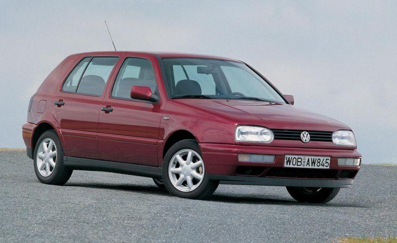 Volkswagen Golf Mk3 Harlequin