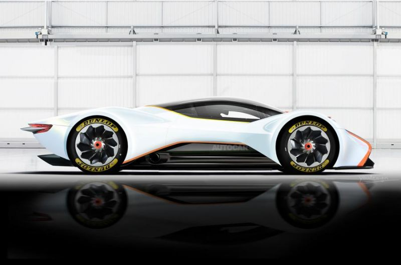 Новый гиперкар от Aston Martin и Red Bull порвет всех