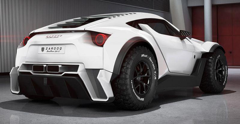 Zarooq SandRacer 500 GT: испанско-арабский пустынный суперкар