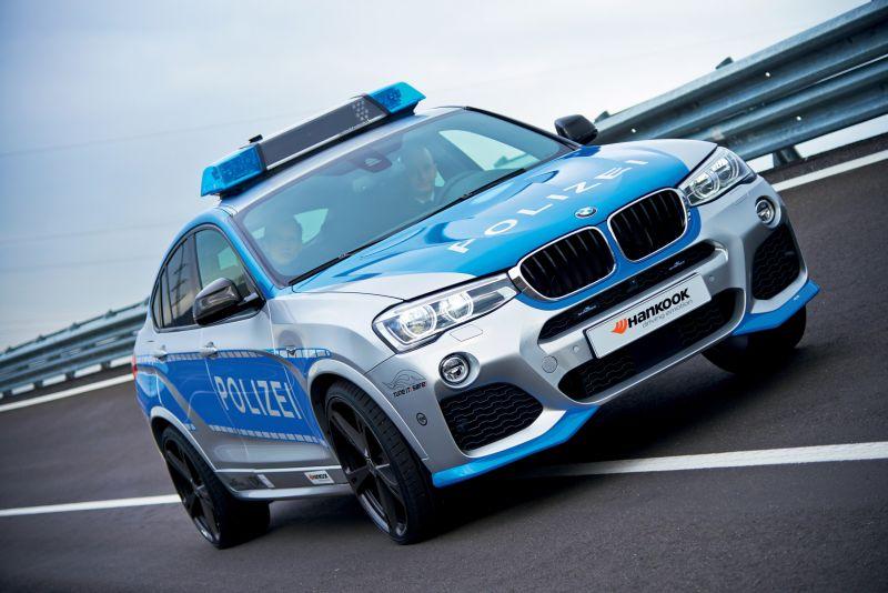 Полицейский вариант BMW X4 от AC Schnitzer на Essen Motor Show 2014