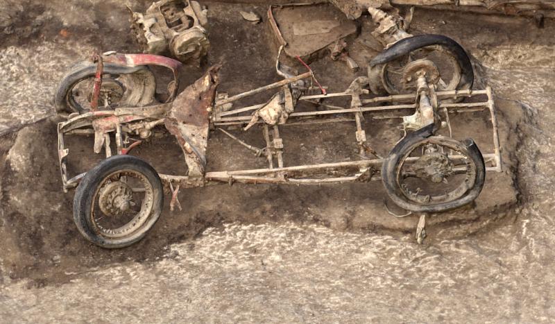 Сюрприз в окопе: MG J2 1932 года найдена на артиллерийской позиции в Ларкхилле