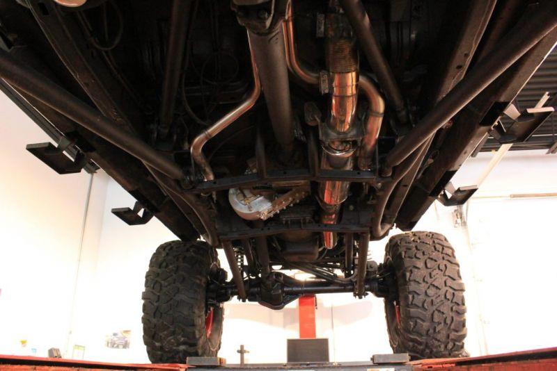 Для реальной езды по говнам: кастом Rattletrap Jeep JK