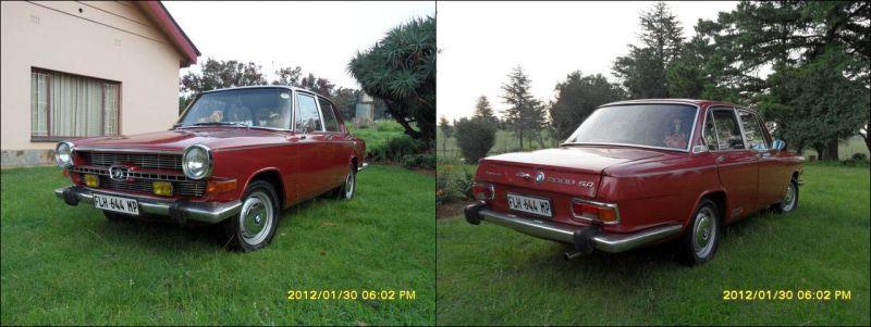 BMW 2000 SA: итальянский дизайн с немецким двигателем в Родезии