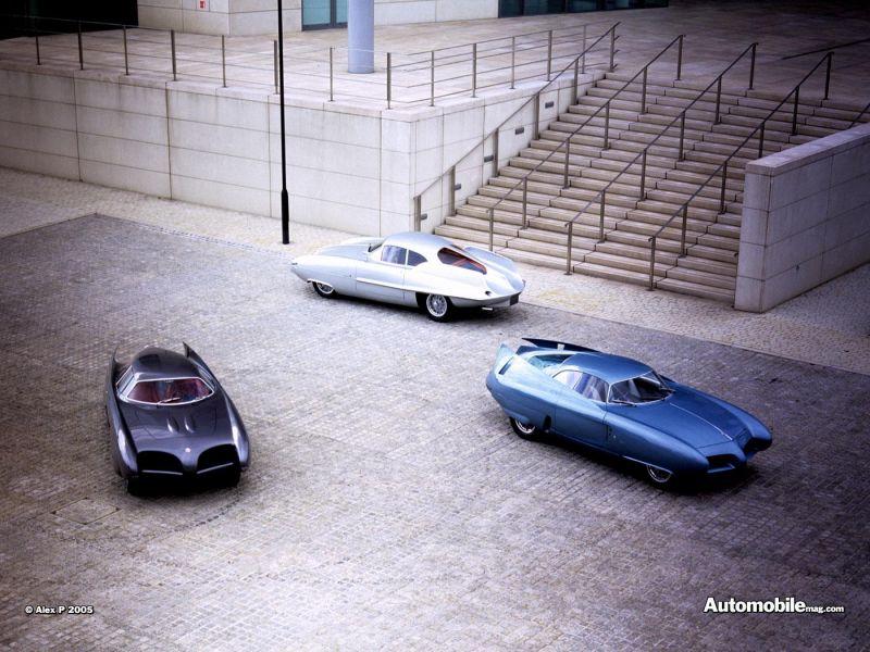 BAT 5, 7, 9 и 11 от Альфа-Ромео и Бертоне - задолго до Бэтмобиля