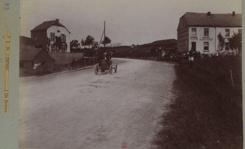 Circuit des Ardennes (гонки в Арденнах) - 1903: несколько интересных фотографий