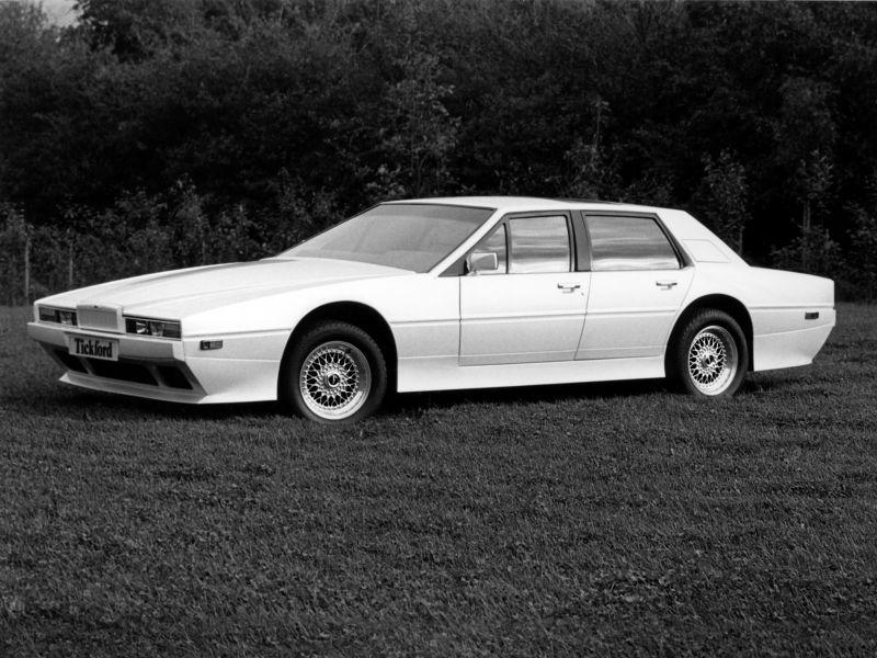 Aston Martin Lagonda: лимузин по-английски от Уильяма Таунза
