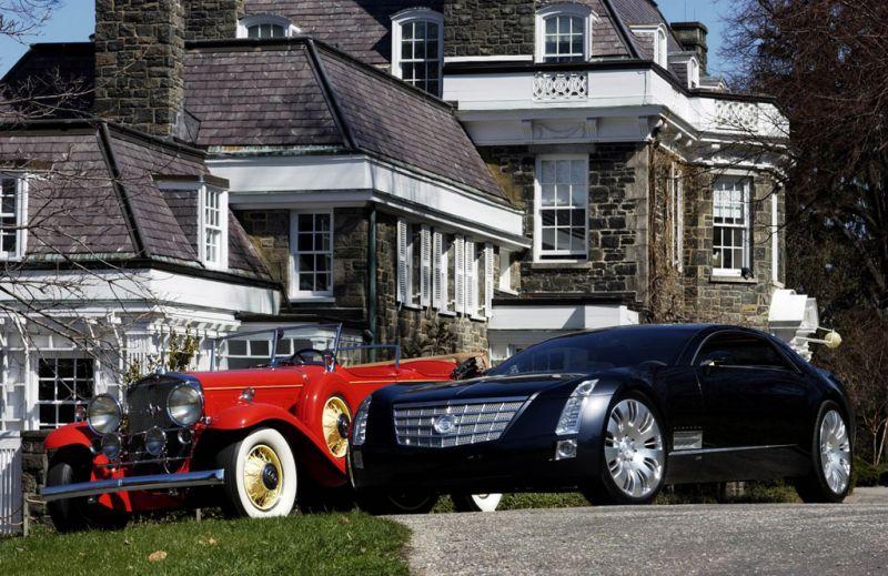 Cadillac Sixteen: привет от шестнадцатого из двухтысячных шестнадцатому из тридцатых!
