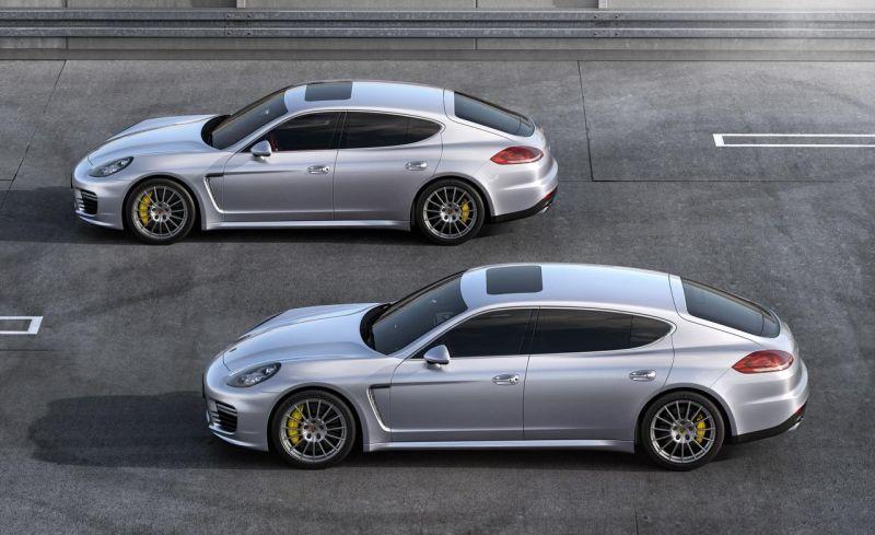 Четырехдверные Porsche: quattroporte по-немецки