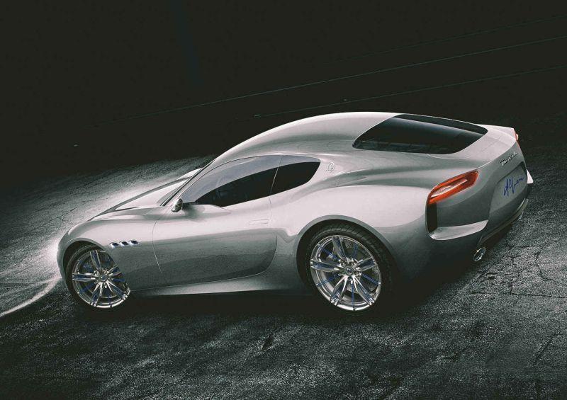 Новый концепт: спорт-купе Maserati Alfieri