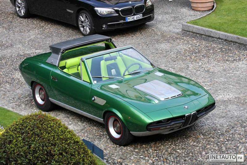 Редкие концепты BMW из шестидесятых