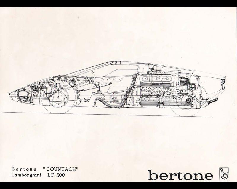 Bertone в черно-белом цвете