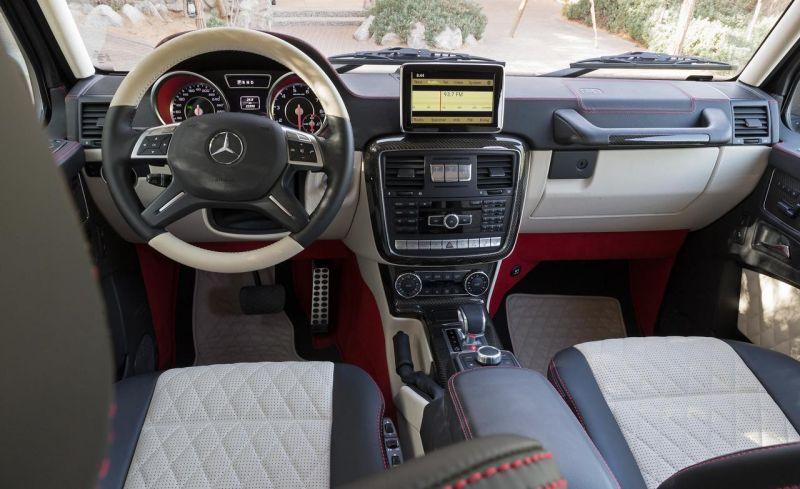 Трехосный. Серийный. За полмиллиона долларов. Mercedes-Benz G63 AMG 6x6