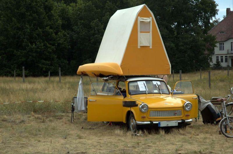 Туристический Trabant 601 от Герхарда Мюллера