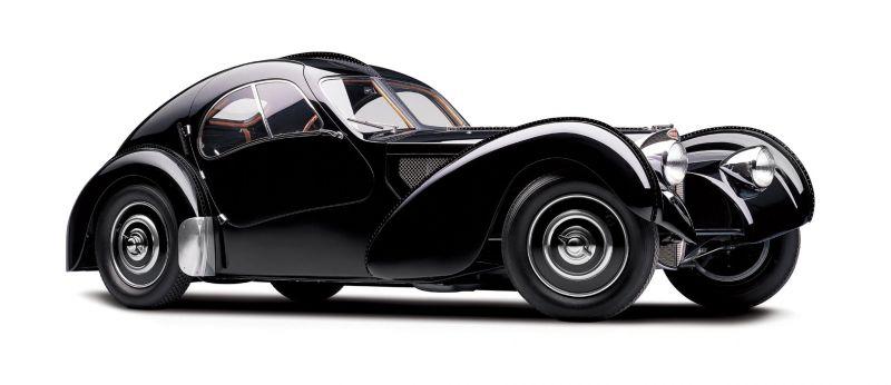 Какой Bugatti Type 57S круче: Atalante или Atlantic ?!