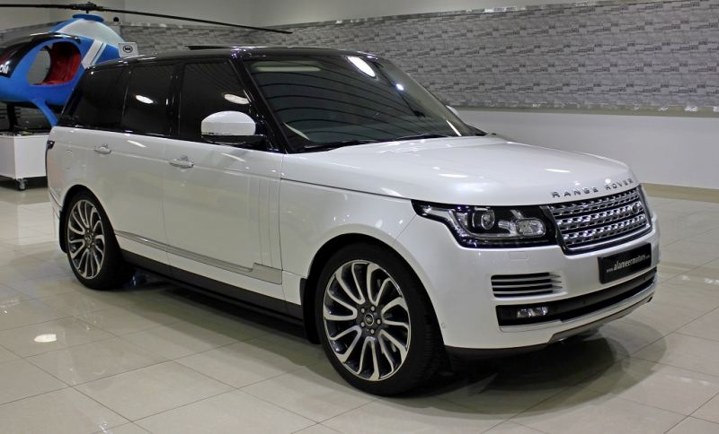 Раздетый Range Rover Vogue 2014