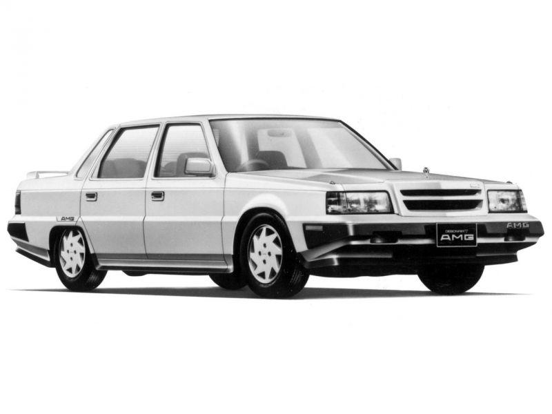 Mitsubishi от AMG: европа + азия в люксовом авто