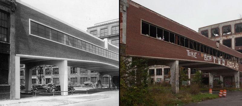 Завод Паккард в Детройте: рождение, жизнь и забвение