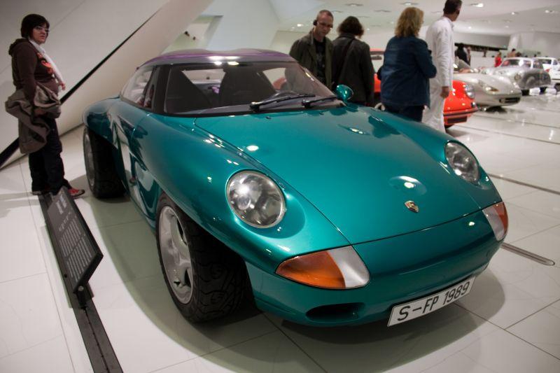 1989: Porsche Panamericana от Харма Лагая и Ульриха Беза