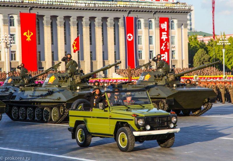 Северокорейское авторазнообразие: немного о параде в Пхеньяне