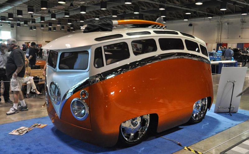 Surf Seeker: Респектнейший автобусный кастом VW Bus