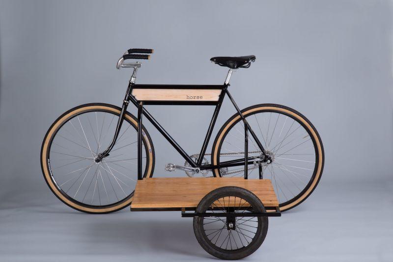 Трехколесный велосипед для хозяйственников: Sidecar Bicycle от Horse