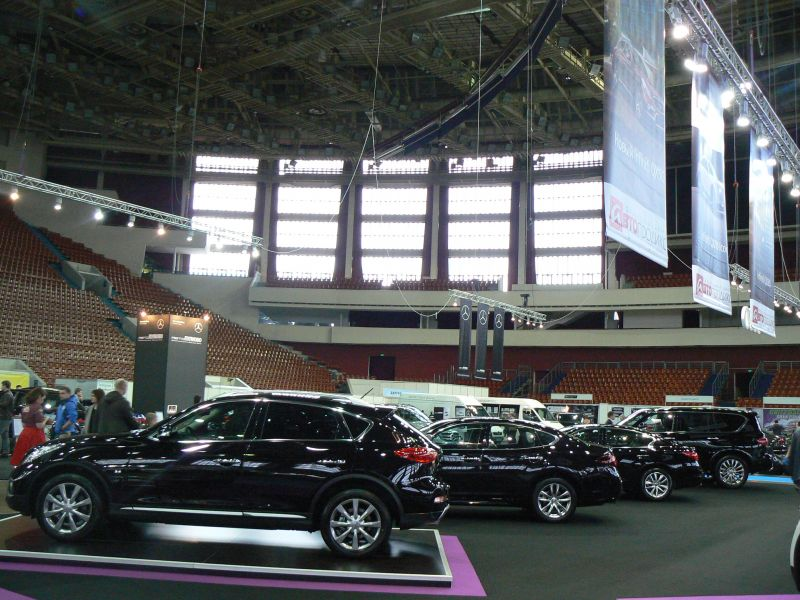 Мир автомобиля - 2016, СКК, 6-10 апреля