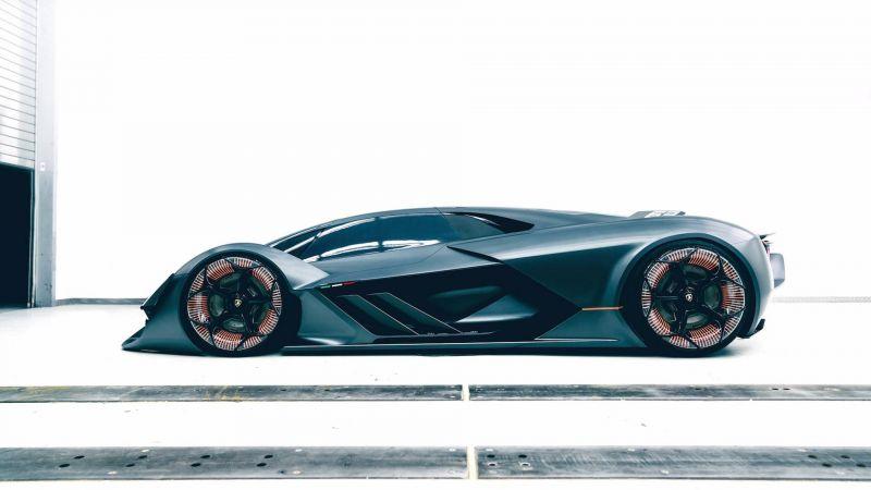 Новый концепт Lamborghini Terzo Millenio, созданный совместо с MIT
