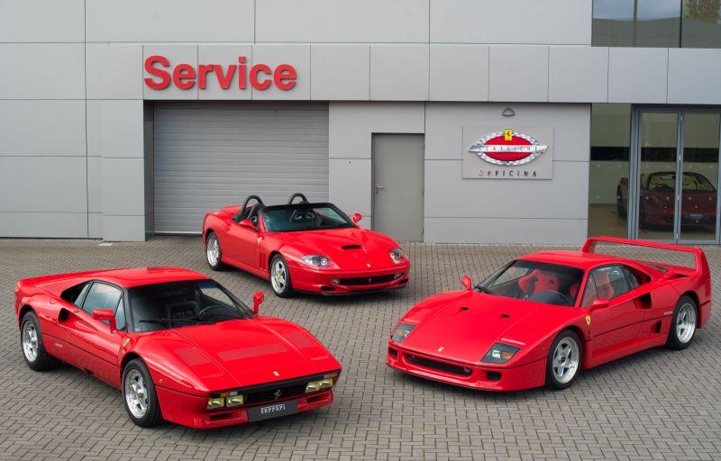 В США 11 дилеров Феррари сертифицированы к ремонту автомобилей старше 20 лет