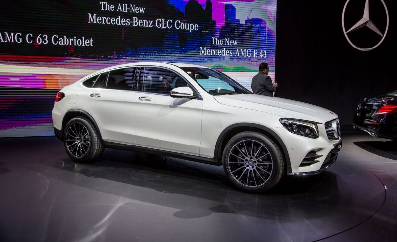 Новая модель Changan - китайский конкурент BMW X4 и Mercedes-Benz GLC Coupe